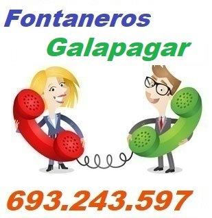 Telefono de la empresa fontaneros Galapagar