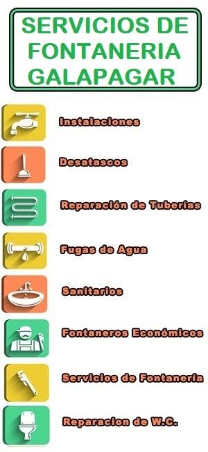servicios de fontaneria en Galapagar